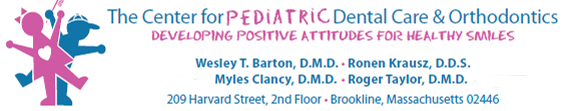 Logo for The Center for Pediatric Dental Care and Orthodontics